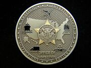 Tsa Transportation Security Administration Office Of Inspection Challenge Coin