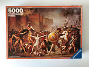 5000 Pieces Jigsaw Puzzle Ravensburger The Rape Of The Sabines Very Rare