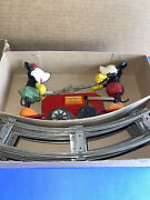 Antique Lionel Mickey And Minnie Mouse Wind Up Railway Hand Car 1100 Red Box