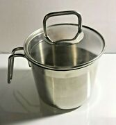 Krona Norpro 18/10 Stainless Steel Inox Rostfrei W Lid Pre-owned Good Condition