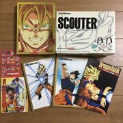 Dragon Ball Dragon Box The Movies Dvd-box Limited Edition W/scouter And Book Japan