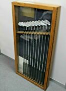 Ben Hogan Personal Limited Edition Display Set 2-sw Calf Leather Grips Rrp Andpound1899
