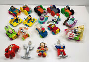 Lot Of Mcdonalds Happy Meal, Tiny Toons, Warner Brothers And Animaniacs Toys