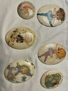 Vintage Lot Of Betsy Clark Wall Hanging 70's