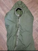 M1949 Intermediate Sleeping Bag Good Condition With Cover And Stuff Sack