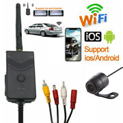 Wifi Car Backup Front View Camera Realtime Video Transmitter For Iphone Android