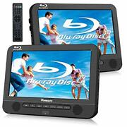 Naviskauto 10.1 Blu Ray Dual Car Dvd Players With Rechargeable Battery Suppo...