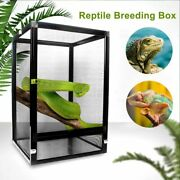 Reptile Breeding Container Aluminum Alloy Pet Box Pet Insect Cage Lizard Snake
