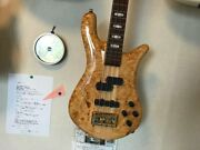 Spector Euro4lx Electric Bass Guitar With Genuine Hard Case