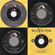 Nm Gss Elvis Presley Too Much /playing For Keeps Rca Victor 447-0617 1958