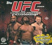 Topps Ufc 2009 Series 2 Round 2 Trading Card Box--brand New--free Shipping