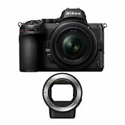 Nikon Z5 Mirrorless Camera With Nikkor Z 24-50mm And Lens Mount Ftz Adapter