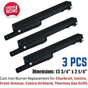 3 Iron Burner Replacement Parts For Charbroil-centro-kirkland-thermos Gas Grills