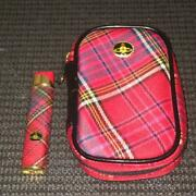 [rare / Out Of Print / Difficult To Obtain] Vivian Westwood Red Tartan Check
