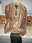 Dressbarn Collection 3pcs 22w Copper Black Bling Evening Garment Outfit Slimming