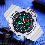 Men Sport Watch Electronic Digital Wristwatch Large Dial Male Gift Watches Smael