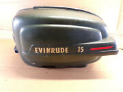 Vintage 1950and039s Evinrude Outboard 15hp Used Oem Cowl Hood As Shown Ships Fast