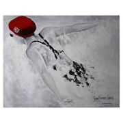 Susan Sommer-luarca Olympic Team Usa Female Swimmer Hand Signed And Nbered Ltd Ed