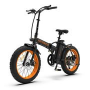 Electric Folding Bike 500w 20 Inch 4.0 Fat Tire Ebike 36v Battery 7 Day Deliver