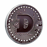 Silver Dogecoin Commemorative New Collectors Gold Plated Doge Coin 2021usa Stock