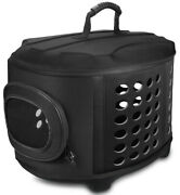 Frieq 23-inch Large Hard Cover Pet Carrier For Cats Small Dogs And Rabbits