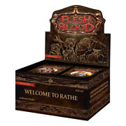 Welcome To Rathe Unlimited Edition Booster Box - Flesh And Blood Tcg - Brand New