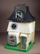 Vintage Weebles Haunted House Playset 1976 Hasbro Toy Play Set