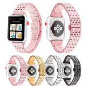 Fashion Stainless Steel Diamond Watch Strap Vacuum Plating Affordable And Durable