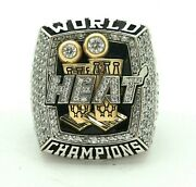 2013 Miami Heat World Championship Ring Made In Stainless Steel