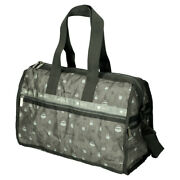 Lesportsac Totoro Gray Deluxe Med Weekender Boston Bag M 875 F/s New