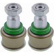 Set-metxk8607t-2 Mevotech Set Of 2 Ball Joints Front Driver And Passenger New Pair