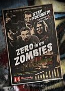 Nos Hornady Zombie Max Ammunition Movie Poster 36x24 Promo Advertising