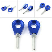 Blue 12mm Axle Tensioner Chain Adjuster For Chinese Crf Xr 50 70 Pit Dirt Bike