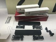 Mckean Models Ho Scale Up Union Pacific 45' Trailers 2-pack Unassembled Nos