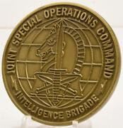 Rare Jsoc Intelligence Brigade Challenge Coin Joint Special Operations Command