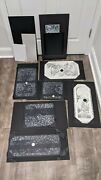 Aaron Horkey Retrospective Letterpress Series Suites 01and02 Rare Matching Numbers