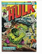 Incredible Hulk 180 - F- 5.5 - 1st Appearance Of Wolverine - Mvs Intact 1974
