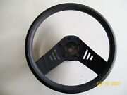 Aftermarket Steering Wheel Off Of A 1985 Camaro Needs The 5 Bolt Adapter Kit.