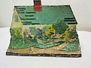 Cape Cod Cottage House Cast Iron Doorstop Eastern Specialty Mfg Co. 14