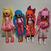 Lot Of 4 Lalaloopsy Girls Dolls In Great Condition