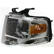 Headlight For 2007-2011 2012 2013 2014 Ford Expedition Left With Bulb