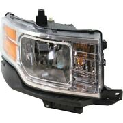 Headlight For 2009 2010 2011 2012 Ford Flex Se Sel Models Right With Bulb Capa
