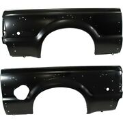 Quarter Panel For 99-2010 Ford F-350 Super Duty Set Of 2 Left And Right Side