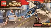 Sealed Lego Legos 76032 The Avengers Quinjet City Chase Marvel Super Heroes New