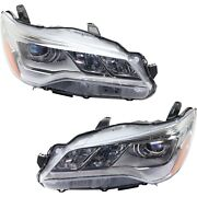 8115006870 8111006870 Capa Driver And Passenger Side Lh Rh For Toyota Camry 15-17