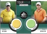 2014 Sp Game Used Tour Gear Dual Tg2ud Peter Uihlein Simon Dyson C - Nm-mt