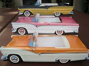 54 Assorted Classic Cardboard Cars Party Planner Kids Food Box Table Center