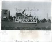 1973 Press Photo Canadaand039s Float In 1922 Festival Of States - Rsh14859