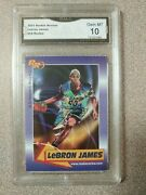 Andnbsp2003 Rookie Review 59 Lebron James Rookie Card Gma 10 Gem Mint Lakers Cavs