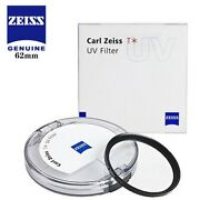 Carl Zeiss 62mm T Uv Filter Protection Lens Anti-reflective Coating Ultraviolet